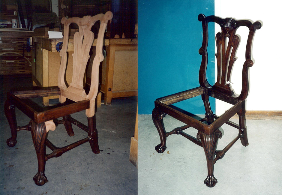 Restoration of a chair