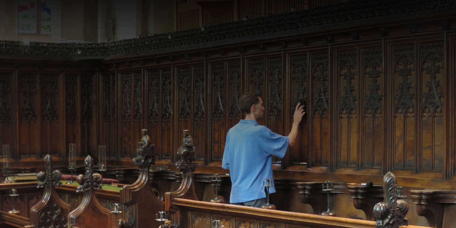Antique restoration in Cambridge University