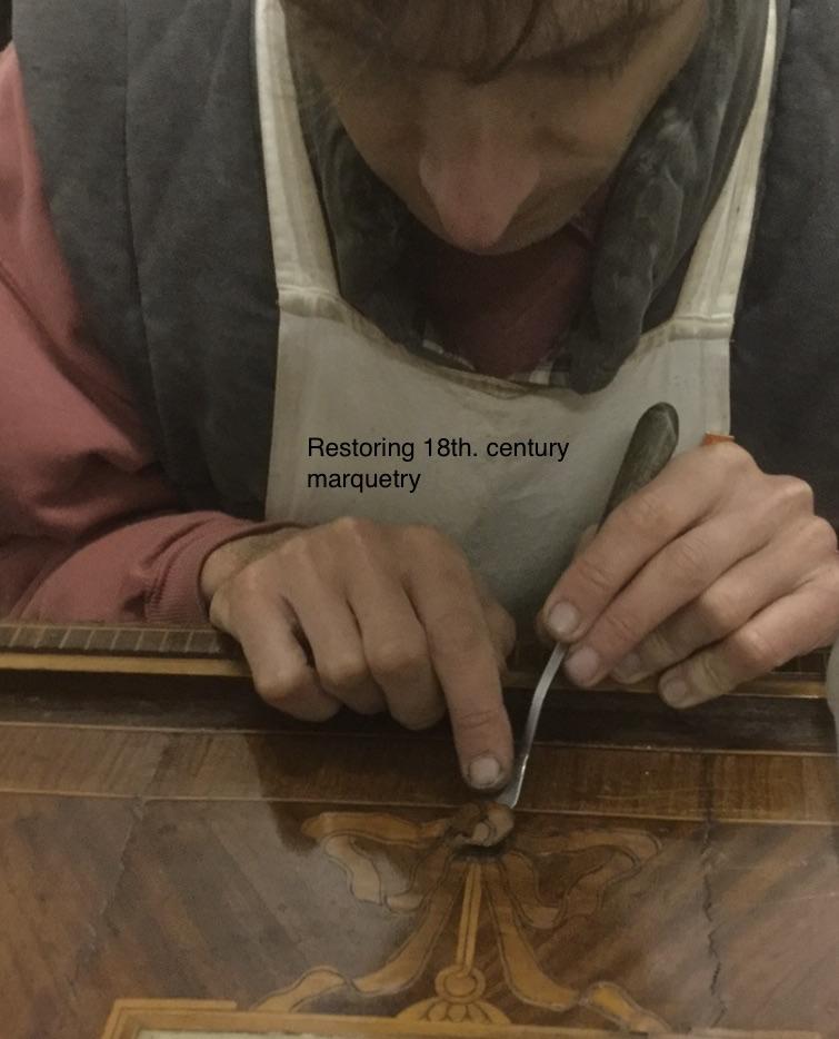 Restoring 18th Century Marquetry